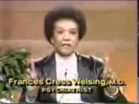 Dr frances cress welsing the isis papers