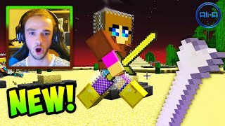 "Minecraft HUNGER GAMES - w/ Ali-A #33! - ""POWER BONE!"""