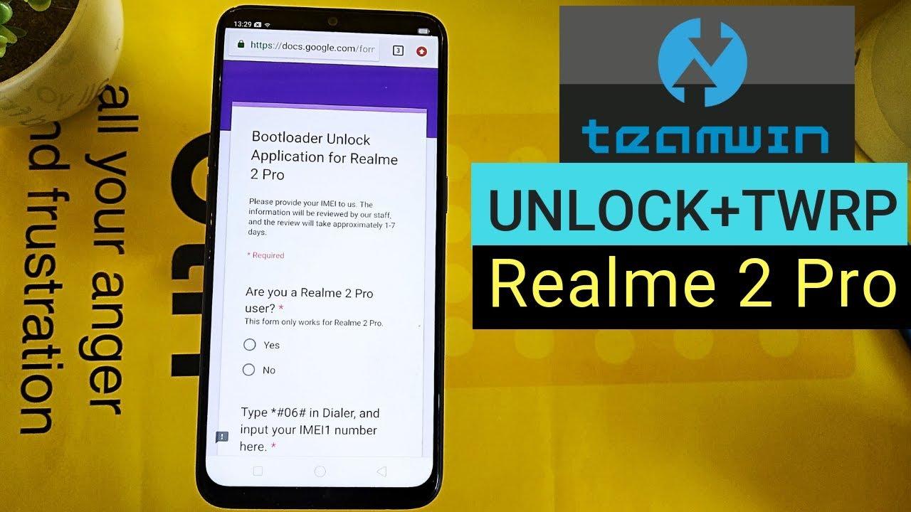 [Guide] Realme 2 Pro Unlock Bootloader | TWRP | Magisk