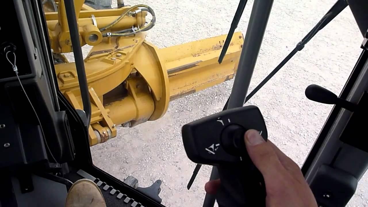 Cat 140m Motor Grader Controls Youtube
