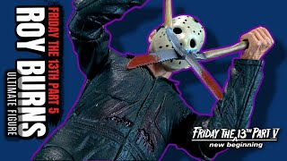 NECA Friday the 13th Part 5 A New Beginning Ultimate Roy Burns | Video Review #HORROR