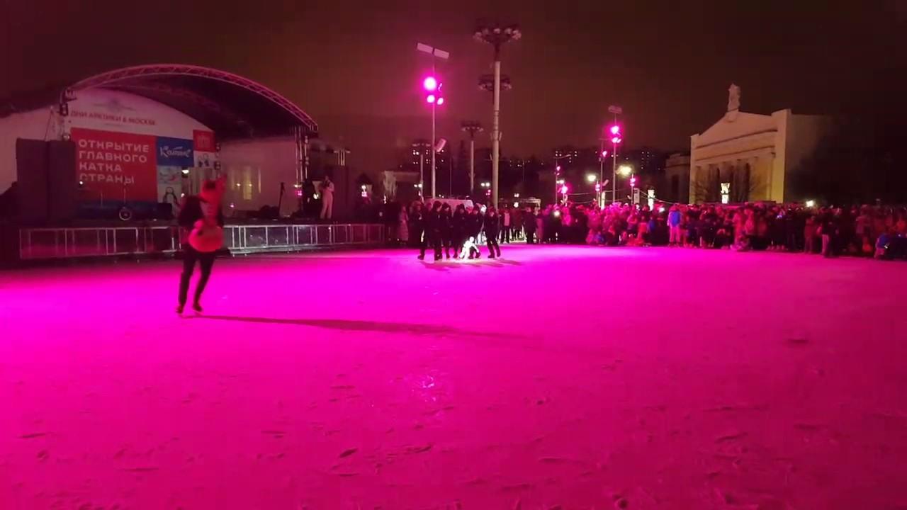 Главный каток страны. Открытие катка на ВДНХ 2016, DUNDU ...