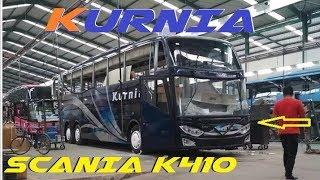BANGKIT Nya Bus KURNIA ..!! CHASSIS SCANIA-K410 JETBUS 3 Karoseri ADIPUTRO