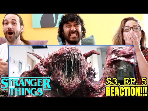 STRANGER THINGS   Season 3 'Chapter Five: The Flayed'   REACTION!!!