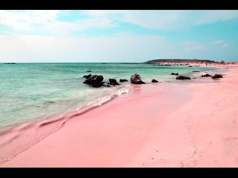 Необычные пляжи видео
