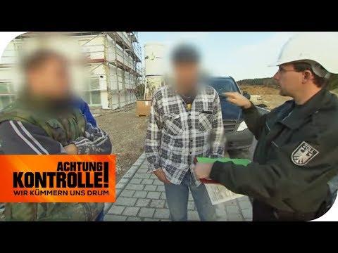 Der Zoll prüft Bauarbeiter: Auf dem Bau blüht die Schwarzarbeit! | Achtung Kontrolle | kabel eins