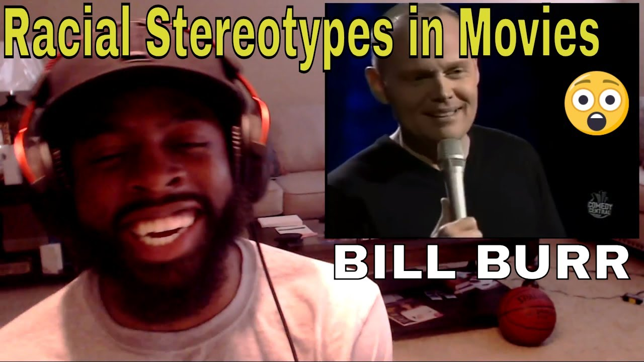 Bill Burr | Racial Stereotypes in Movies | E Dewz Reacts