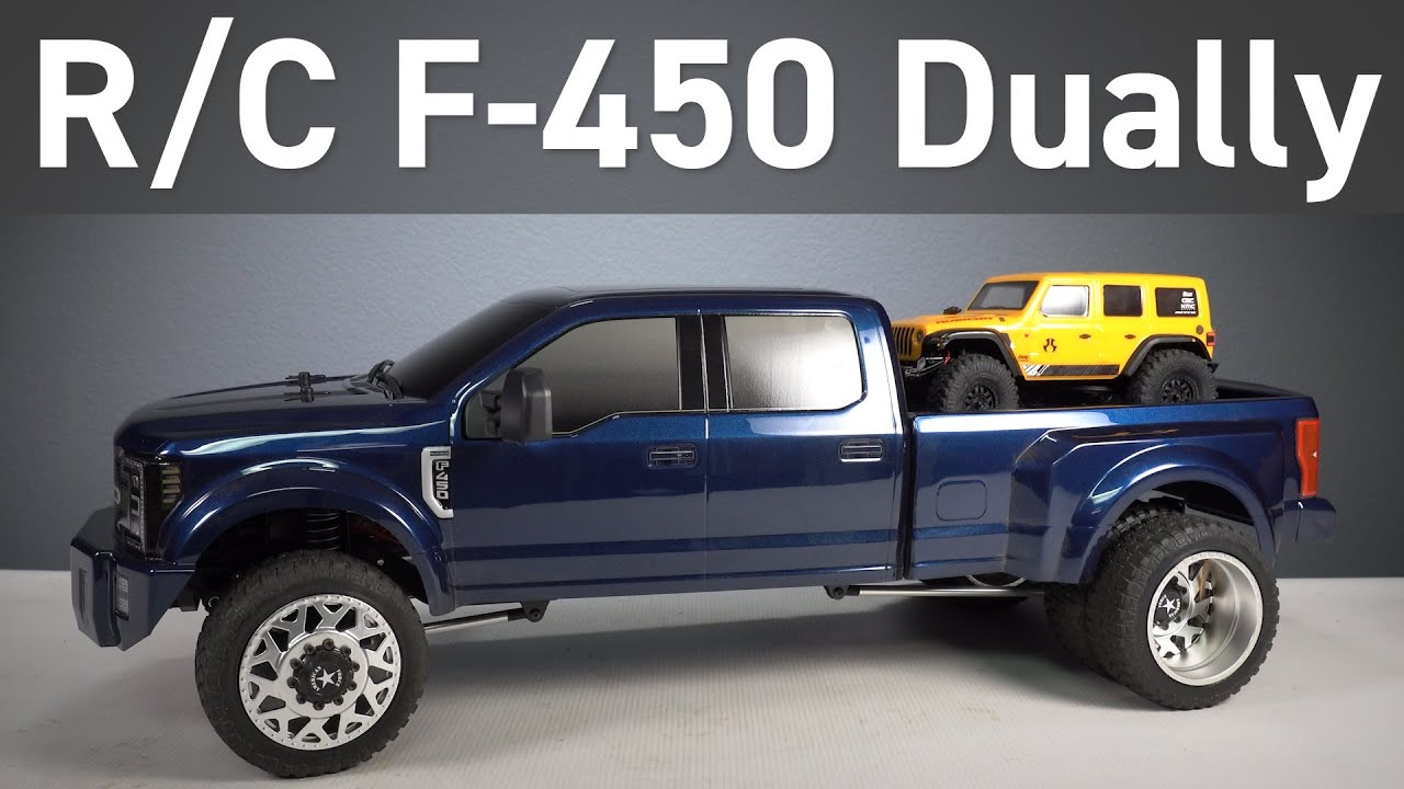 Reviewing the F450 Super Duty RC Custom Truck from CEN