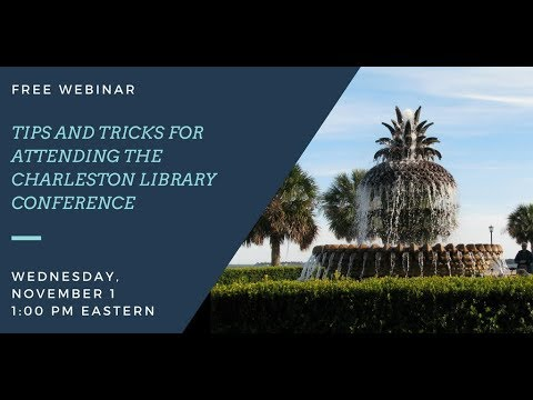 Webinar: Tips and Tricks for Attending the Conference
