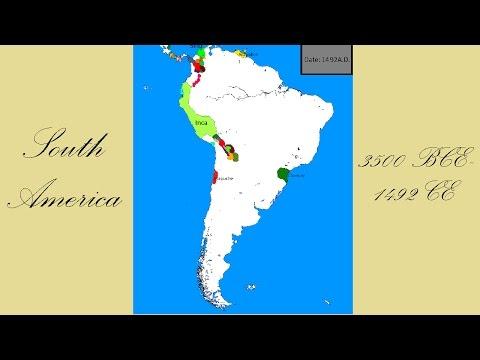 South America 3500 BCE- 1492 CE