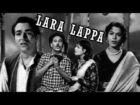LARA LAPPA (1970) - EJAZ, FARZANA, MUNAWAR ZARIF & NASIRA - OFFICIAL FULL MOVIE