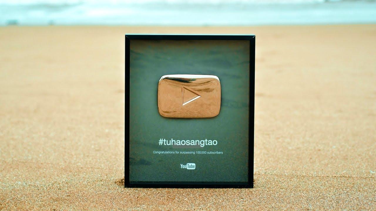 Chủ nhân NÚT BẠC tiết lộ 2 điều phải nhớ khi làm YouTube