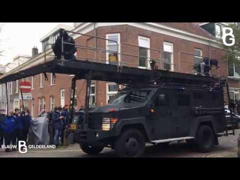 Man met bomgordel en wapen gepakt door DSI en AT -Arnhem-