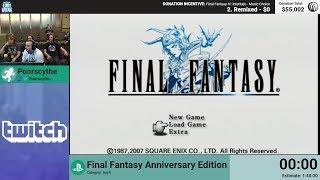 Final Fantasy Anniversary Edition by Poorscythe (RPG Limit Break 2018 Part 24)