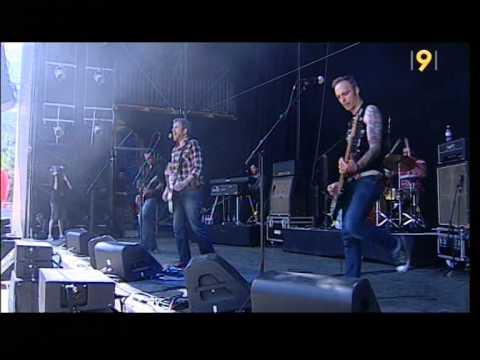 Favez live at Gampel Festival 2011