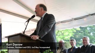 La-Z-Boy Ground Breaking Ceremony