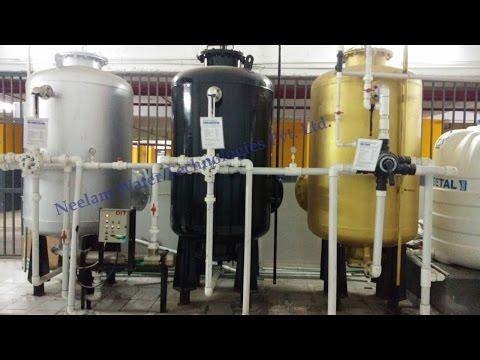 working of water softener, WTP
