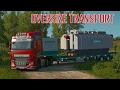 ETS2 OVERSIZE LOAD part 1 (Euro Truck Simulator 2)