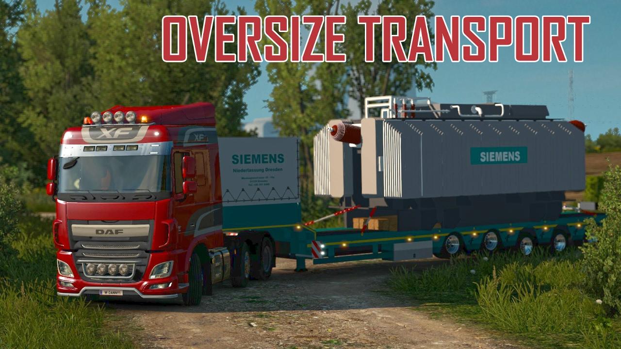 Ets2 Oversize mod
