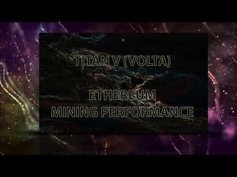 TITAN V Ethereum Mining Hashrate | Power Usage Vs RX VEGA|GTX 1080 Ti|GTX 1080|GTX 1070|GTX 1070 Ti