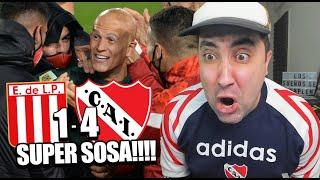 ESTUDIANTES (1) 0 - 0 (4) INDEPENDIENTE | SEMIFINALISTAS | Reacción de un Hincha | Copa Liga 2021