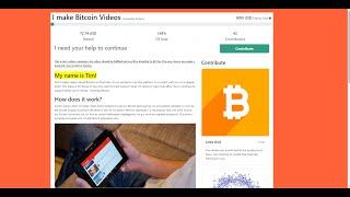 bitcoin crowdfunding site- uri