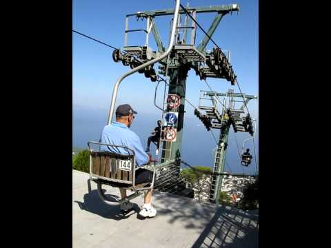 Single-seat Chairlift in Anacapri - YouTube