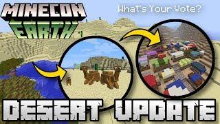 Minecraft - DESERT UPDATE ( BIOME ) [ Minecon Vote ] MCPE / Xbox / Switch / Bedrock / JAVA