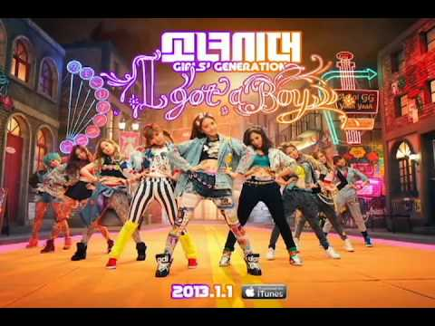Girls' Generation - I Got A Boy (Hypothesis Audio)