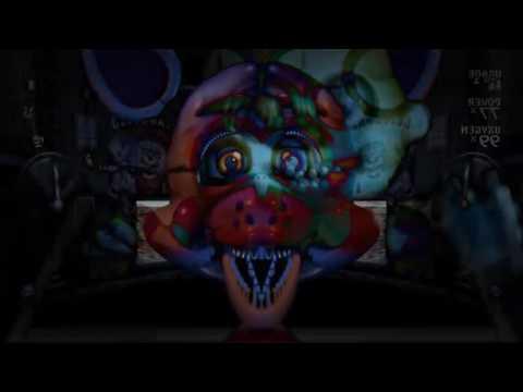 [Sparta Remix] FNAF Sister Location Custom Night - Sparta Dark Ubercharge Remix