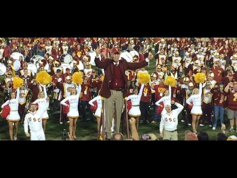 USC Homecoming Postgame FULL Show - Sing Sing Sing Animal House Shout Heartbreaker Song Girls HD