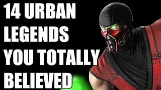14 Urban Legends In Video Games You Totally Believed