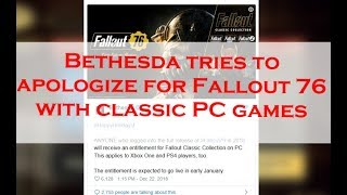 Bethesda Is Giving All Fallout 76 Players Classic Fallout Games. Is That Really The Best Idea?