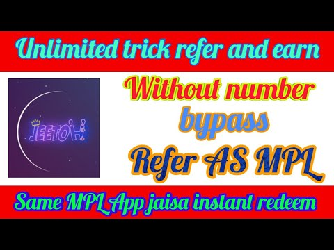 Jeetoh app unlimited trick refer bypass||one device trick