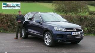 Volkswagen Touareg SUV review - CarBuyer