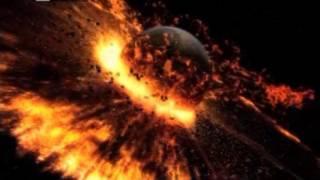 Зіткнення з Теєю та утворення Місяця_Educational movie is used on batrachos.com