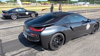 BMW i8 PP Performance vs Porsche 996 Turbo vs BMW M3