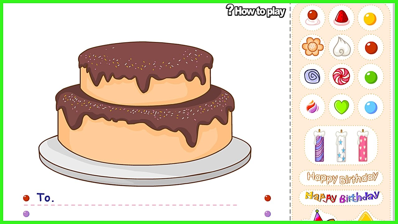 Decorate Cake Game