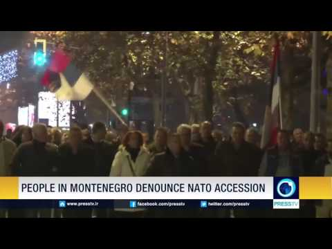 People In Montenegro Denounce NATO Accession