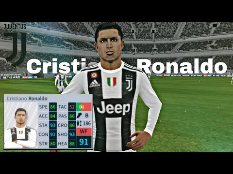 Cristiano Ronaldo Skills Goals Juventus Dream League Soccer 2019 Youtube
