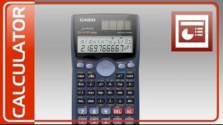 Vectorizar una Calculadora CASIO en Power Point - Speed Drawing CASIO Calculator in PowerPoint