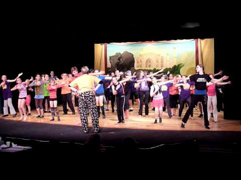 Amazing Race - The Musical, Krayon Kids Musical Theatre Company