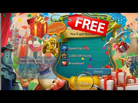 Lords Mobile Game How To Get Free Gift Trick 100% Working 2018