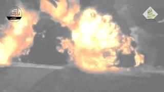 بالفيديو..تدمير الدبابة الروسية الأحدث T90 على يد ثوار حلب