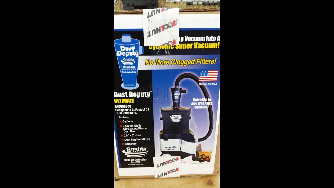 Oneida Ultimate Dust Deputy - RIDGID Forum | Plumbing, Woodworking