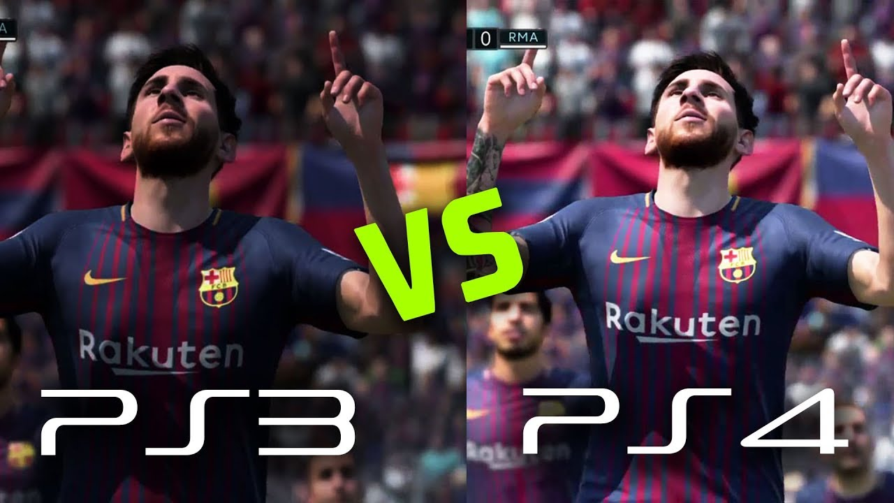 Fifa  Ps Vs Ps Faces New Features Gameplay Graphics Comparison Ft Messi Ronaldo Pogba