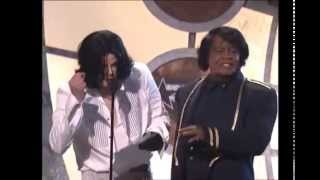 Michael Jackson entrega premio a su Idolo James Brown sub. E...