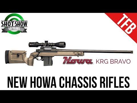 [SHOT 2018] Howa Bravo and Mini-Action Chassis Rifles