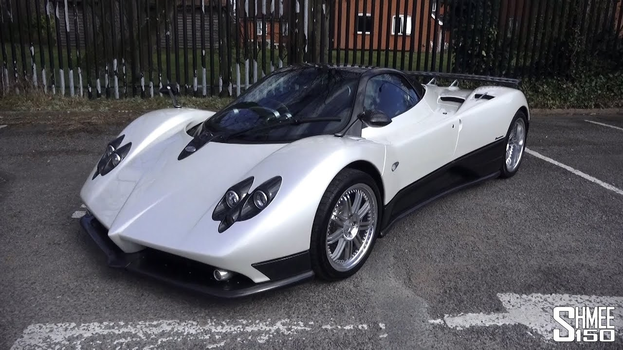 pagani zonda f with saabkyle04 discussion revs and walkaround youtube. Black Bedroom Furniture Sets. Home Design Ideas