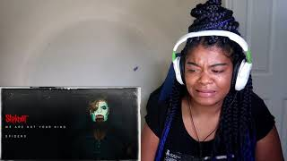 Slipknot - Spider We Are NOT Your Kind REACTION!!!!